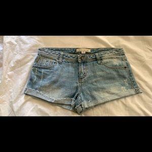 Old forever twenty one denim shorts